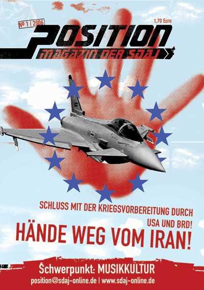 Position - Hände weg vom Iran!